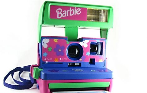 The Barbie Polaroid Camera 600