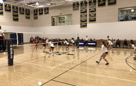 Girls volleyball steamrolls over rival Sacred Heart Prep in first meeting