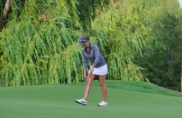 Girls golf falls in close match to Harker