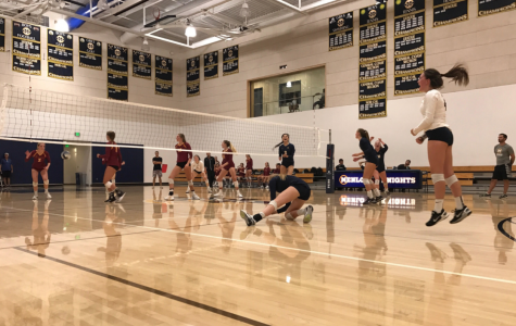 Volleyball sweeps Menlo-Atherton in home opener
