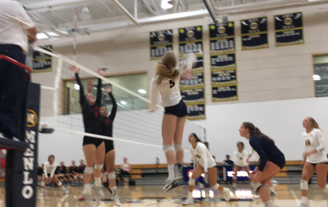 Volleyball keeps positive momentum with 3-0 sweep of Aragon