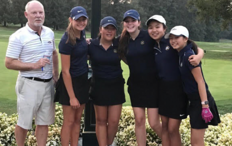 Girls golf brings A-game in victory over powerhouse Harker