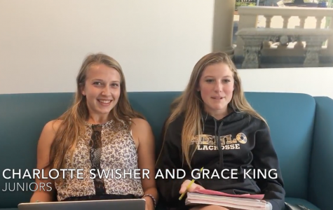 Menlo students share their favorite part about going back to school