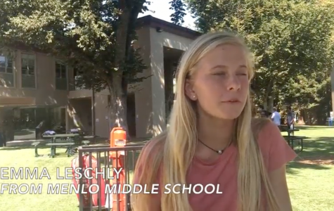 Video: Freshmen first impressions about Menlo