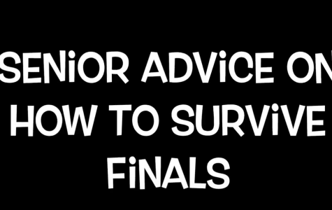 Video: Seniors give advice on preparing for finals