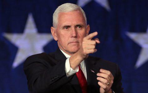 Tension between VP Pence, Olympian Rippon