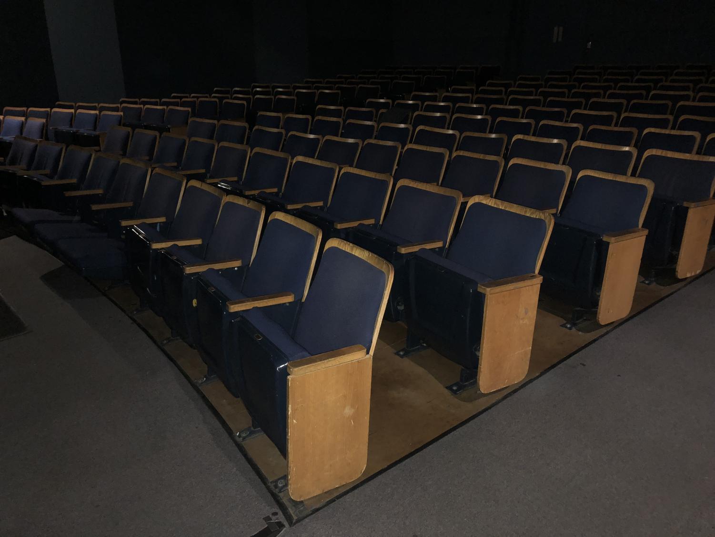 Florence Moore Auditorium. Staff Photo: Crystal Bai.