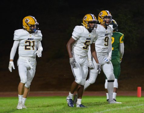 Menlo Football Falls to Menlo-Atherton