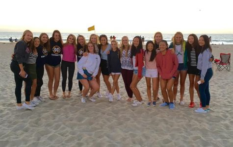 Girls Tennis Plays in the Point Loma Invitational