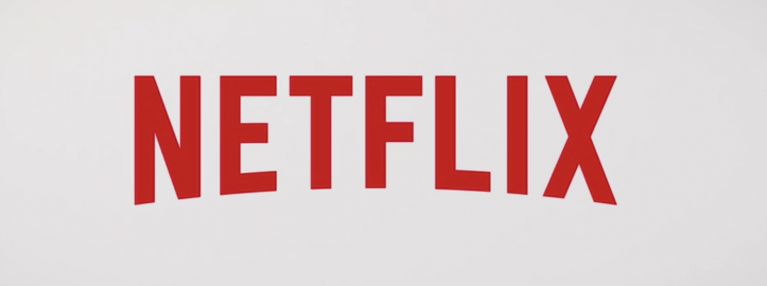 Netflix logo. Netflix was founded in 1997 by Reed Hastings and Marc Randolph originally as an online DVD rental service. Screenshot from Netflix.