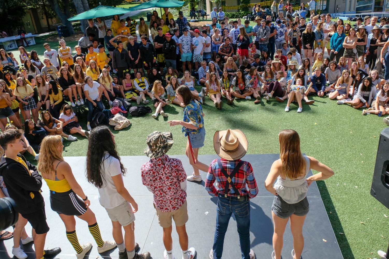 Students participate in annual
