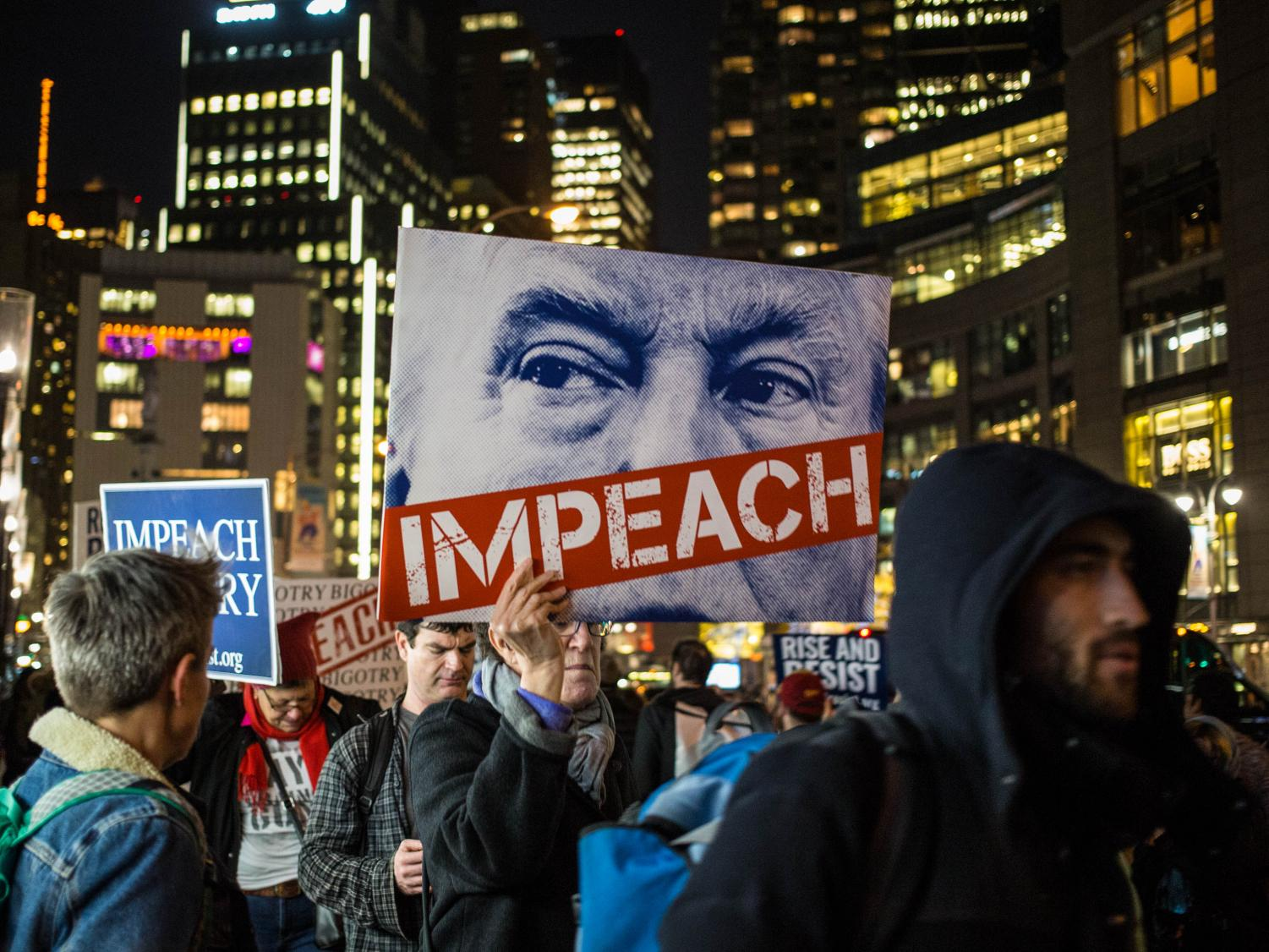 This is not the first time Trump has dealt with impeachment talk. Formal efforts to impeach Trump were initiated in 2017 by House Democrats as well. Creative Commons Photo image: Working Families Party from Creative Commons.