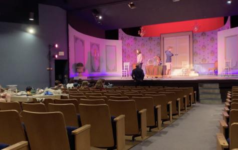 Tartuffe premiered on Saturday, Feb. 8th. Staff Photo: Laura Artandi.