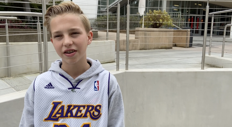Video: Students and Teachers React to Kobe Bryant's Death
