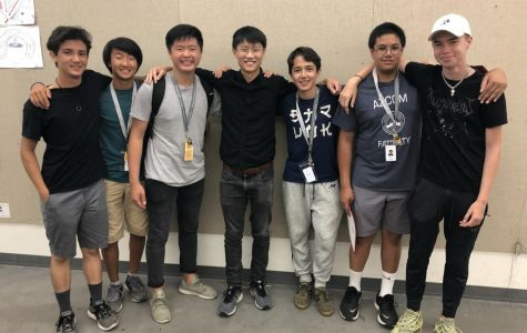 Sophomore Josh White accompanies fellow members that participated in the three-week architecture-centered summer program at Stanford University. Photo Courtesy of Ayden Harris.