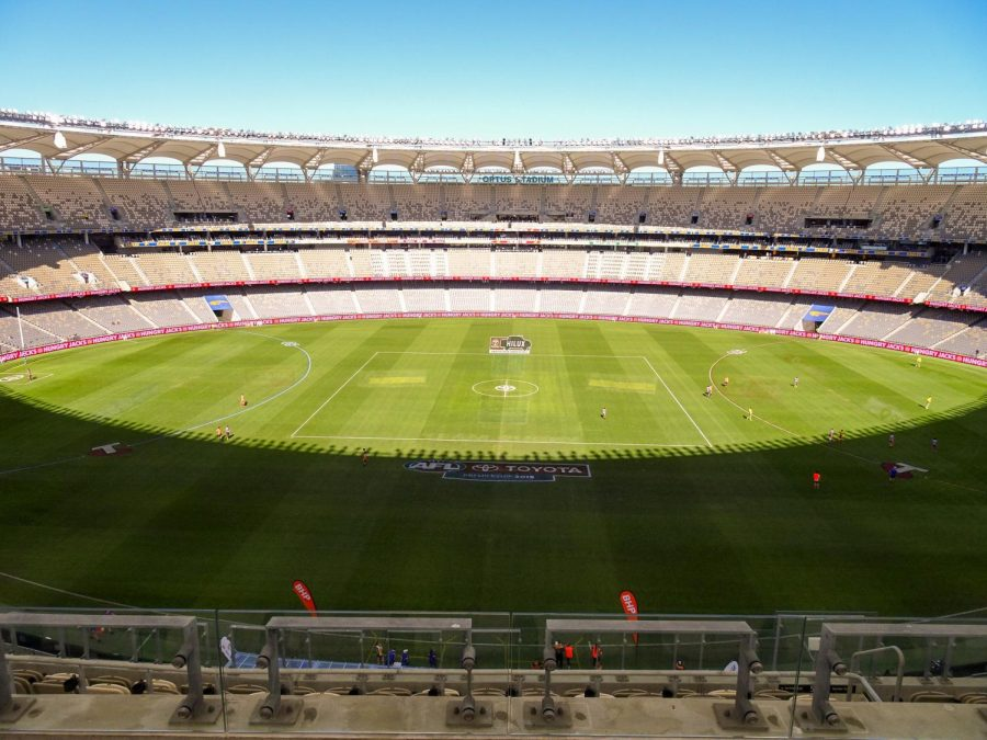 While stadiums would normally be full during this time, sporting events have been put on pause. Creative Commons photo: Michael Coghlan on Flickr.