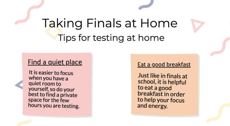 Although second semester finals are optional this year and cannot harm students