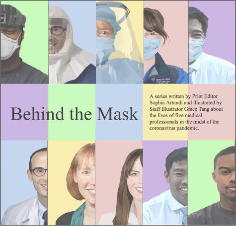 Behind the Mask: Series Cover