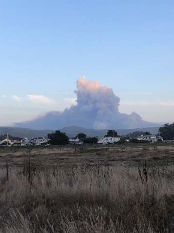 Wildfires in California have emerged from a series of lightning strikes, resulting in deteriorating air quality and the evacuations of some Menlo community members. Photo courtesy of Tripp Robbins.