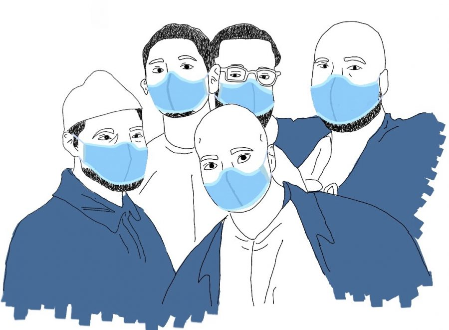 The California Reentry Institute, where several Menlo students and alumni volunteer, provides pre- and post-release programs to individuals in the justice system. As many incarcerated people are released early because of the pandemic, these rehabilitative programs are even more crucial, according to alum Sonya Lebedeva ('20). Illustration courtesy of Kate Richardson.