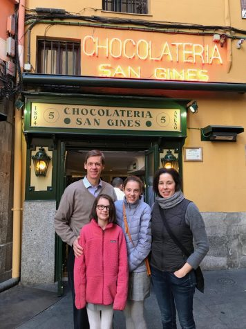 Upper School Director John Schafer and his family spent more than six months living in Spain earlier this year. This sabbatical, however, was interrupted by the outbreak of COVID-19 and became a particularly insightful experience. Photo courtesy of John Schafer.