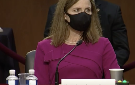 Among this week's major news stories: The Senator Judiciary Committee -- including key figures like Sen. Lindsey Graham (R-SC) and Sen. Dianne Feinstein (D-CA) -- spent hours questioning Judge Amy Coney Barrett about her stances and qualifications. President Trump nominated Barrett to the Supreme Court shortly after Ruth Bader Ginsburg's death last month. Photo: C-SPAN.