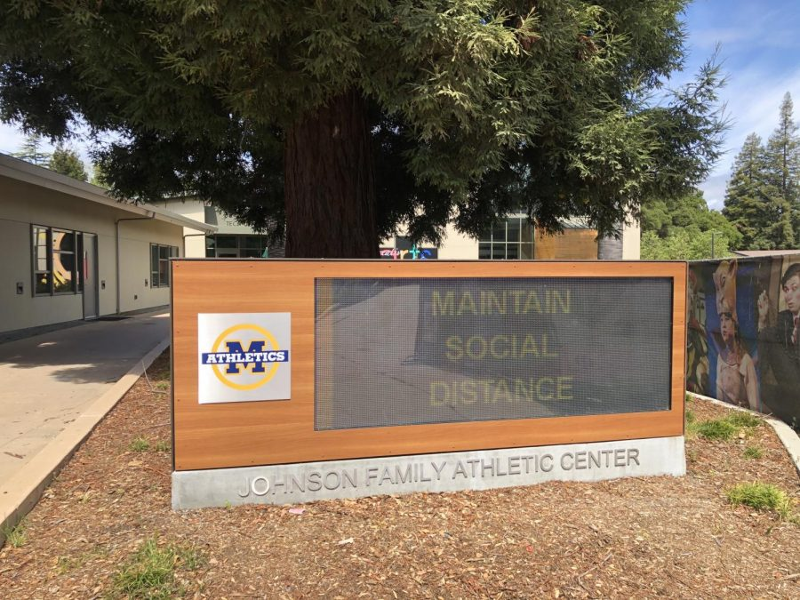 Menlo has implemented several safety measures in anticipation of students return to campus, which will begin on Oct. 26 through a hybrid learning model. Photo courtesy of Tripp Robbins.