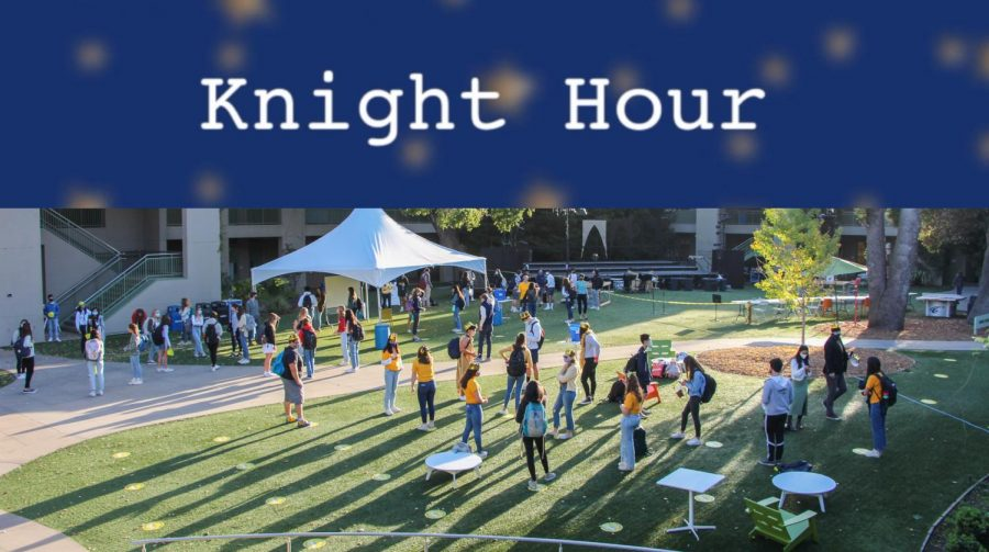 The Coat of Arms is excited to announce Knight Hour, a weekly broadcast about Menlo news and announcements. This week, hosts Lauren Lawson and Valentina Ross are featuring several recent CoA stories, as well as announcements about returning to campus. Staff photo: Sadie Stinson.