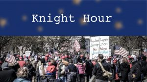 Knight Hour is a weekly broadcast by The Coat of Arms covering Menlo news and announcements. This week, hosts Valentina Ross and Lauren Lawson are featuring CoA stories about the recent riots at the U.S. Capitol building, Kamala Harris' pioneering role in American politics and a recap of 2020. Creative Commons photo: Ted Eytan on TeacherPress.