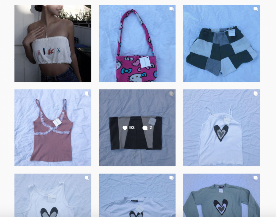 Menlo+freshman+Madison+Brown+sells+hand-made%2C+sustainable+clothing+through+her+Instagram+account%2C+%40earthbabe.+Screengrab%3A+https%3A%2F%2Fwww.instagram.com%2Fearthhbabe%2F.