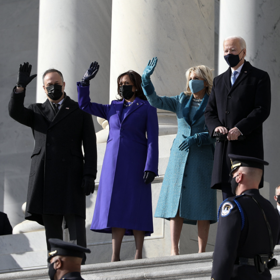 Among this week's major news stories: On Wednesday, Jan. 20, President Joe Biden was sworn into office. He is pictured with First Lady Jill Biden, Vice President Kamala Harris and Second Gentleman Doug Emhoff. Creative Commons photo: GPA Photo Archive on Flickr.