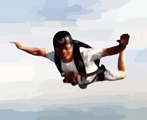 Kiang skydives as a hobby. To read more about Kiang