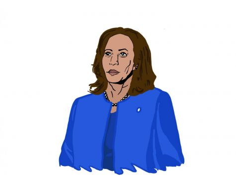 Vice President-elect Kamala Harris will be the highest-ranking African American woman in U.S. history, and she has the opportunity to pave the way for more female politicians. Staff illustration: Sophie Fang.
