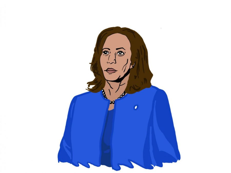 Vice+President-elect+Kamala+Harris+will+be+the+highest-ranking+African+American+woman+in+U.S.+history%2C+and+she+has+the+opportunity+to+pave+the+way+for+more+female+politicians.+Staff+illustration%3A+Sophie+Fang.
