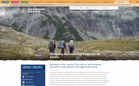 The 12-day backpacking program soon-to-be-Menlo-alumni Julia Deffner will participate in next January. Screenshot from https://www.outwardbound.org/course/patagonia-backpacking-service-for-adults/389/.
